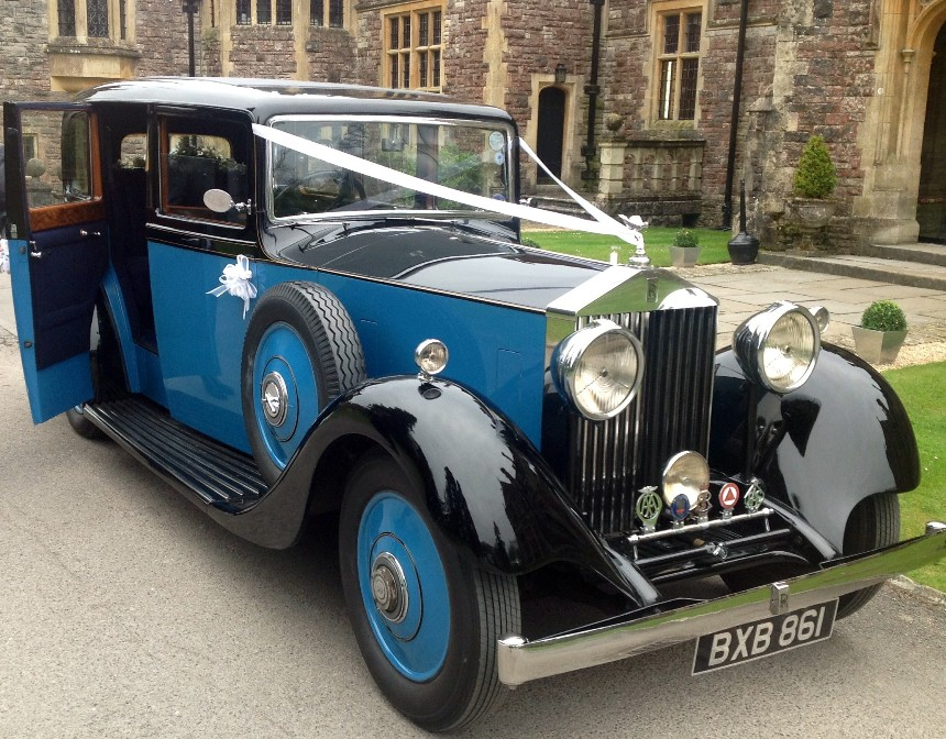 Vintage Rolls Royce Wedding Car Hire